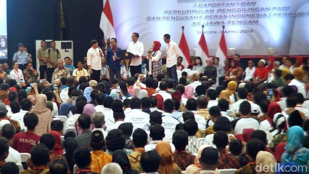 Jokowi ke Petani: Usai 17 April Kita Atur Penggilingan Punya Dryer