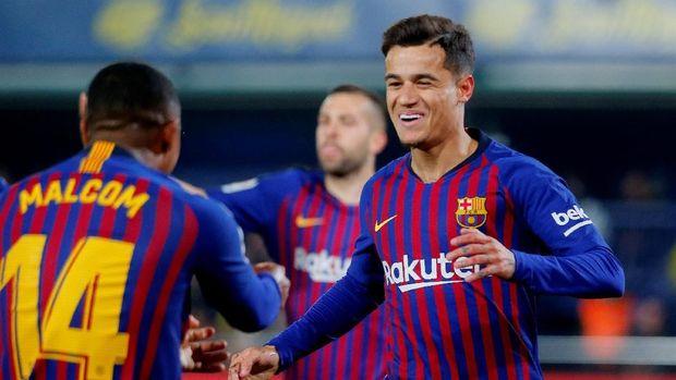 Pemain-pemain Brasil di Barcelona Menanti Neymar