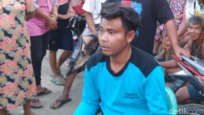 Yuli Wijaya, korban pengeroyokan di Purworejo. Foto: Rinto Heksantoro/detikcom