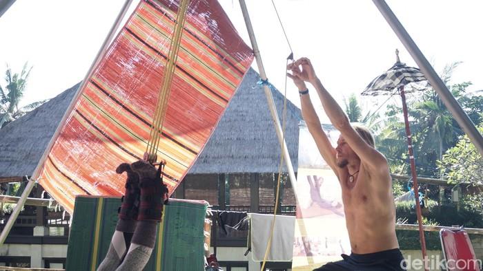 Tujuannya adalah untuk memberikan energi bagi mereka yang sedang melayang. (Foto: Khadijah Nur Azizah/detikHealth)
