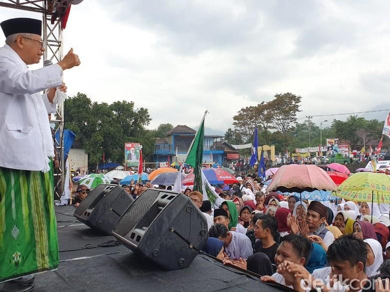 Taktik Maruf Amin Ungkap Silsilah Prabu Siliwangi