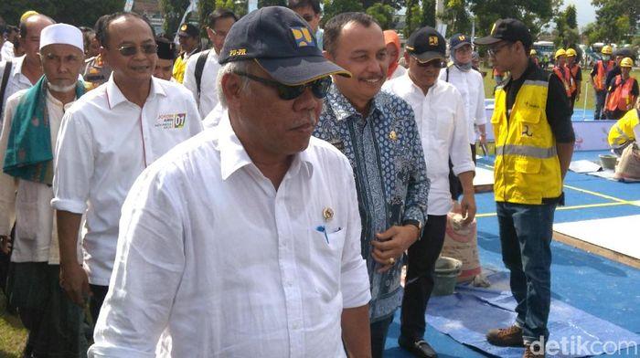 Menteri PUPR Basuki Hadimuljono/Foto: Rinto Heksantoro/detikcom