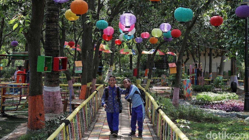 RPTRA Kamal Bahari Jadi Tempat Favorit Anak-anak Bermain