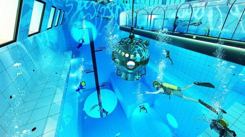 Kolam Renang Terdalam di Dunia akan Dibuka 2019