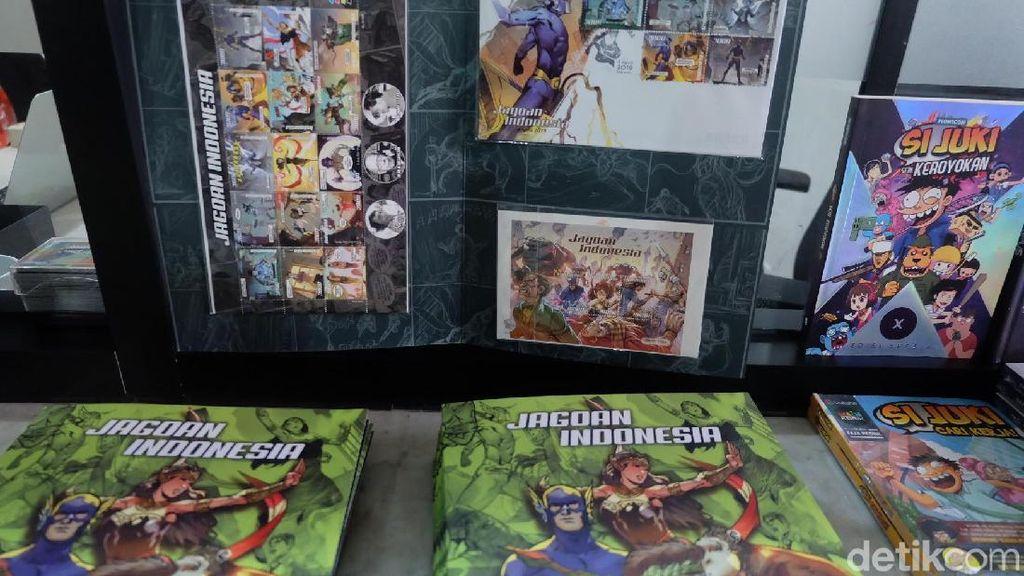 Membawa Misi Kebudayaan, Jagoan Komik Indonesia Hadir dalam Prangko