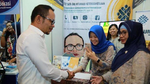 Di Bekasi, Kemenaker Sediakan 11.362 Lowongan Kerja