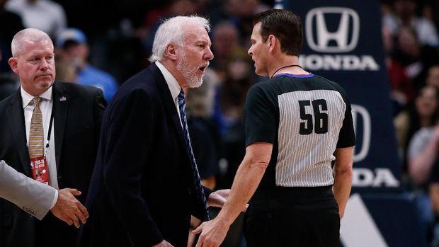 Hasil NBA: Spurs Kalah, Pelatihnya Bikin Rekor