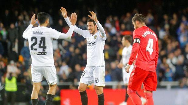 Valencia tidak pernah kalah dari Barcelona di La Liga musim ini.