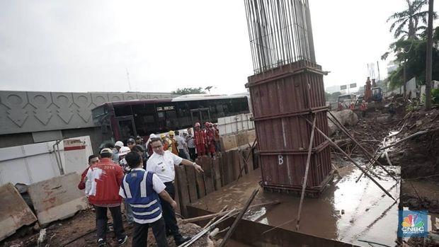 Proyek LRT Dituding Anies Picu Banjir, Menhub Minta Bukti!