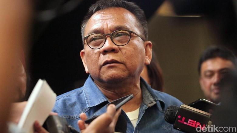 M Taufik Angkat Bicara soal OTT Pria di Depan Posko Pemenangannya
