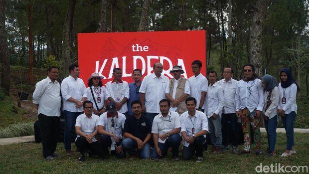 Gencarkan Nomadic Tourism, Menpar Resmikan The Kaldera Danau Toba
