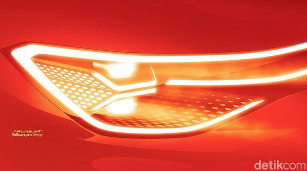 Desain Lampu VW ID. ROOMZZ