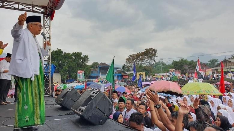 Maruf Ajak Warga Garut Pilih Orang Sunda: Saya Keturunan Prabu Siliwangi