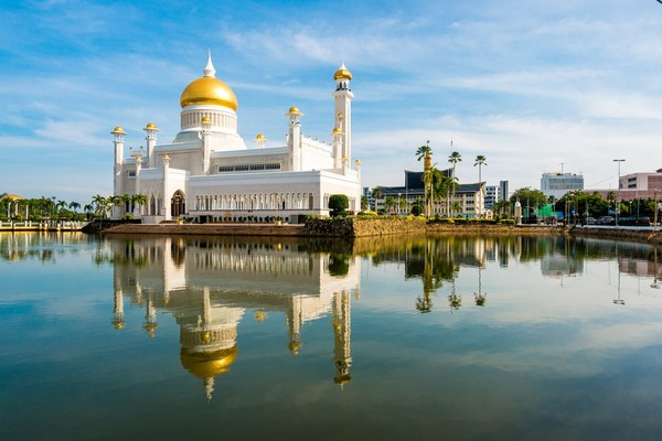 Brunei Darussalam adalah tetangga Indonesia. Negara ini termasuk yang tajir di dunia.(iStock)