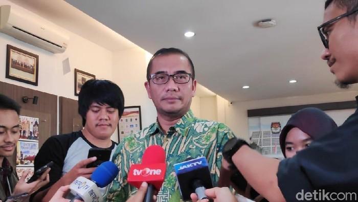 Komisioner KPU Hasyim Asyari (Dwi Andayani/detikcom)