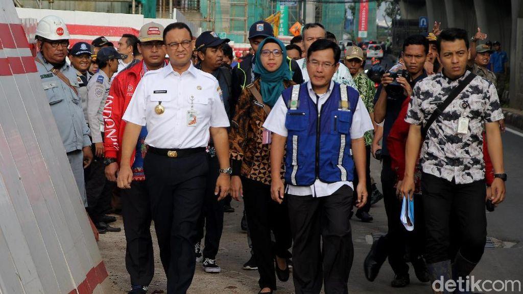 Heboh Anies Tuding LRT Jabodebek & Tol Becakayu Biang Kerok Banjir