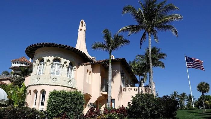 Foto: Hotel Presiden AS Donald Trump di Palm Beach, Florida. (REUTERS/Kevin Lamarque)