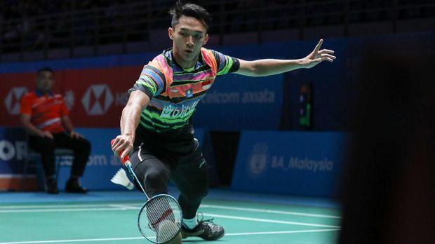 Jonatan Christie Lolos ke Semifinal Malaysia Terbuka 2019