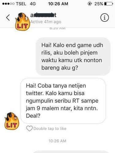 Viral Cowok Kumpulkan 1.000 Retweet Demi Ajak Cewek Nonton, Begini Endingnya