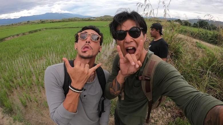 Foto: Marshall Sastra dan Vincent Verhaag bertualang di Luwu Utara (My Trip My Adventure)