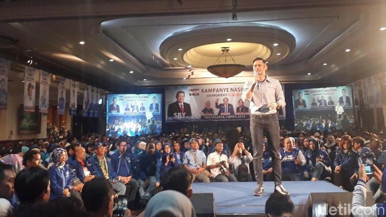 AHY Sebut di Zaman SBY Pengangguran Turun 10 Juta Orang