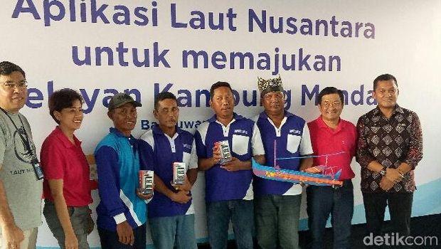XL Sosialisasikan 'Laut Nusantara' ke Nelayan Banyuwangi, Apa Itu?