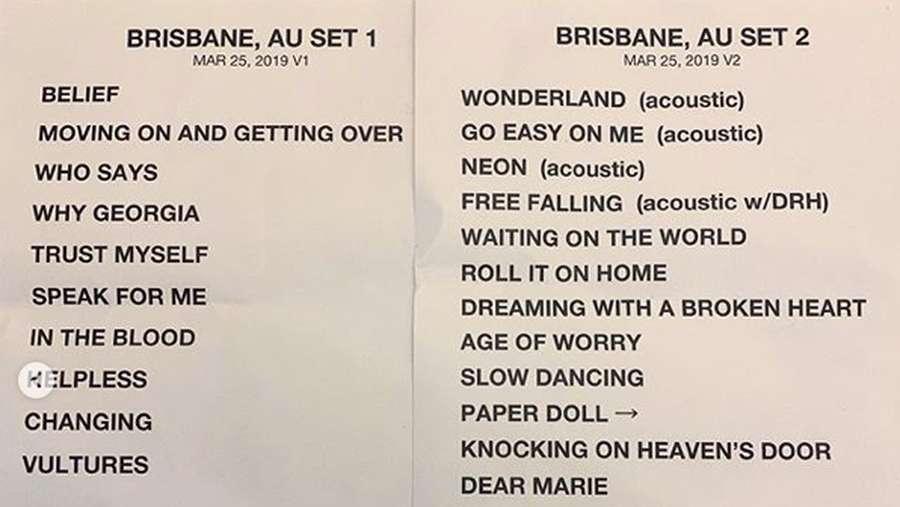 Jelang Konser John Mayer, Lihat Setlist Konsernya Dulu!