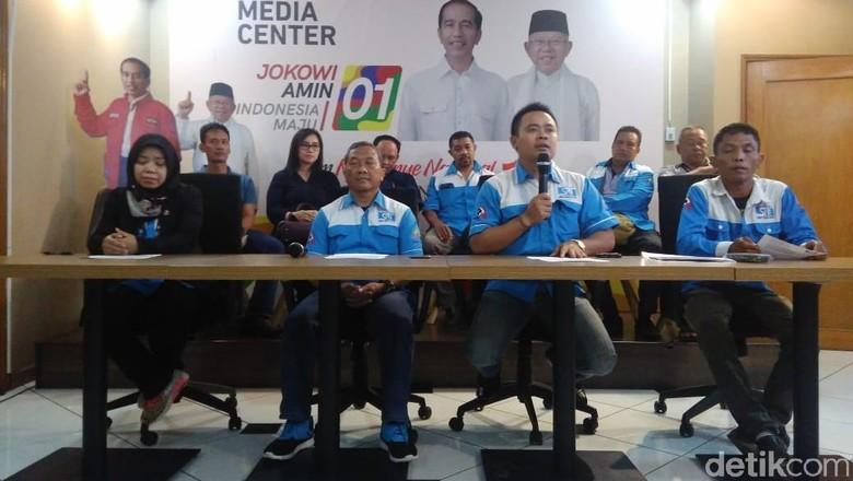 Serikat Pekerja Nasional Deklarasi Dukung Jokowi-Maruf Amin