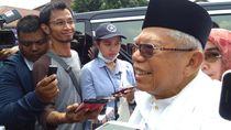 Jawab Sindiran Prabowo, Maruf Amin: Kartu Bukan untuk Dimakan