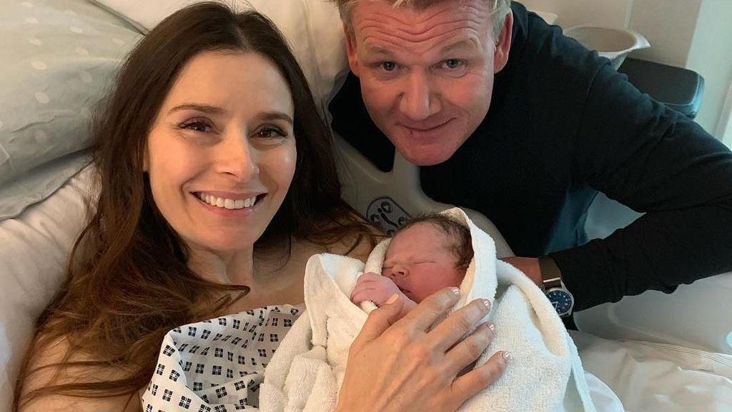 Oscar James, Anak Kelima Gordon Ramsay Baru Saja Lahir