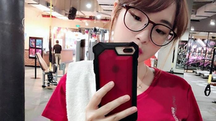 Kimi Hime sendiri diketahui gemar olahraga untuk jaga kebugaran. (Foto: Instagram/kimi.hime)