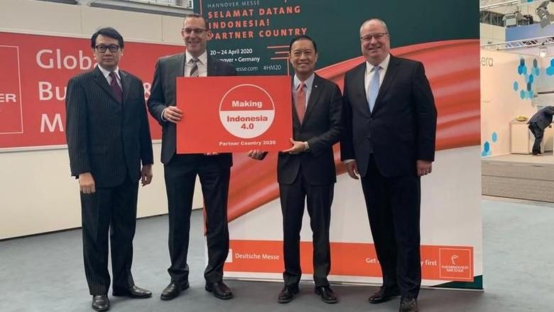 Terima Estafet Hannover Messe 2020, RI Tegaskan Jalan Menuju Industri 4.0