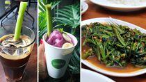 Restoran Thailand Ini Gunakan Sedotan Dari Kangkung Agar Ramah Lingkungan