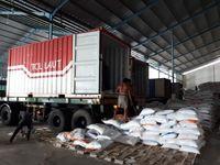KM Kendhaga Nusantara I Angkut 1.000 Ton Beras ke Tahuna Via Tol Laut