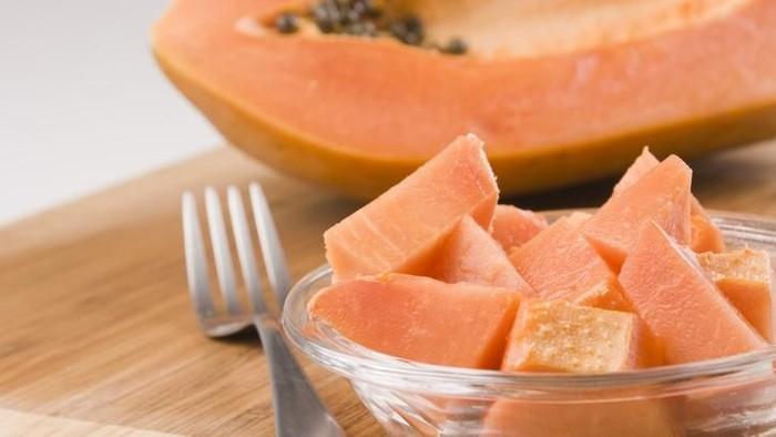 Pepaya banyak mengandung serat untuk kesehatan pencernaan (Foto: iStock)
