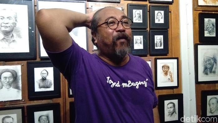 Seniman Djaduk Ferianto diduga meninggal karena serangan jantung. Foto: Usman Hadi