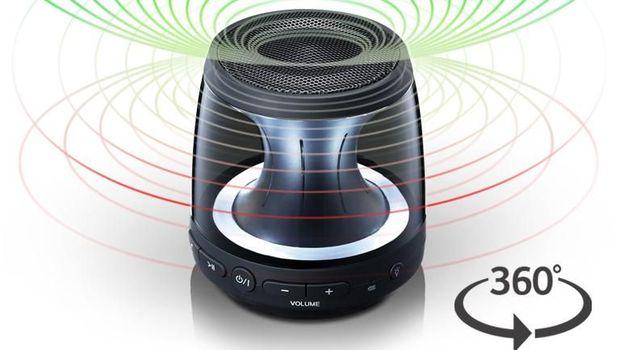 LG Rilis Speaker Portable Bentuk Tabung Harga Rp 500 Ribu