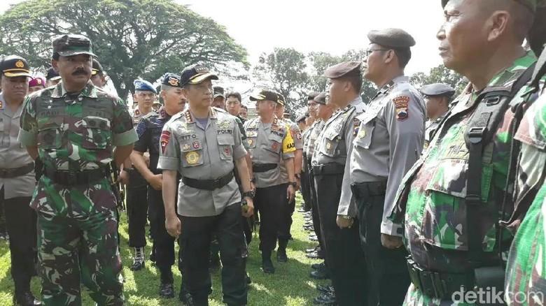 Panglima TNI dan Kapolri Cek Kesiapan Pasukan Jateng Jelang Pemilu