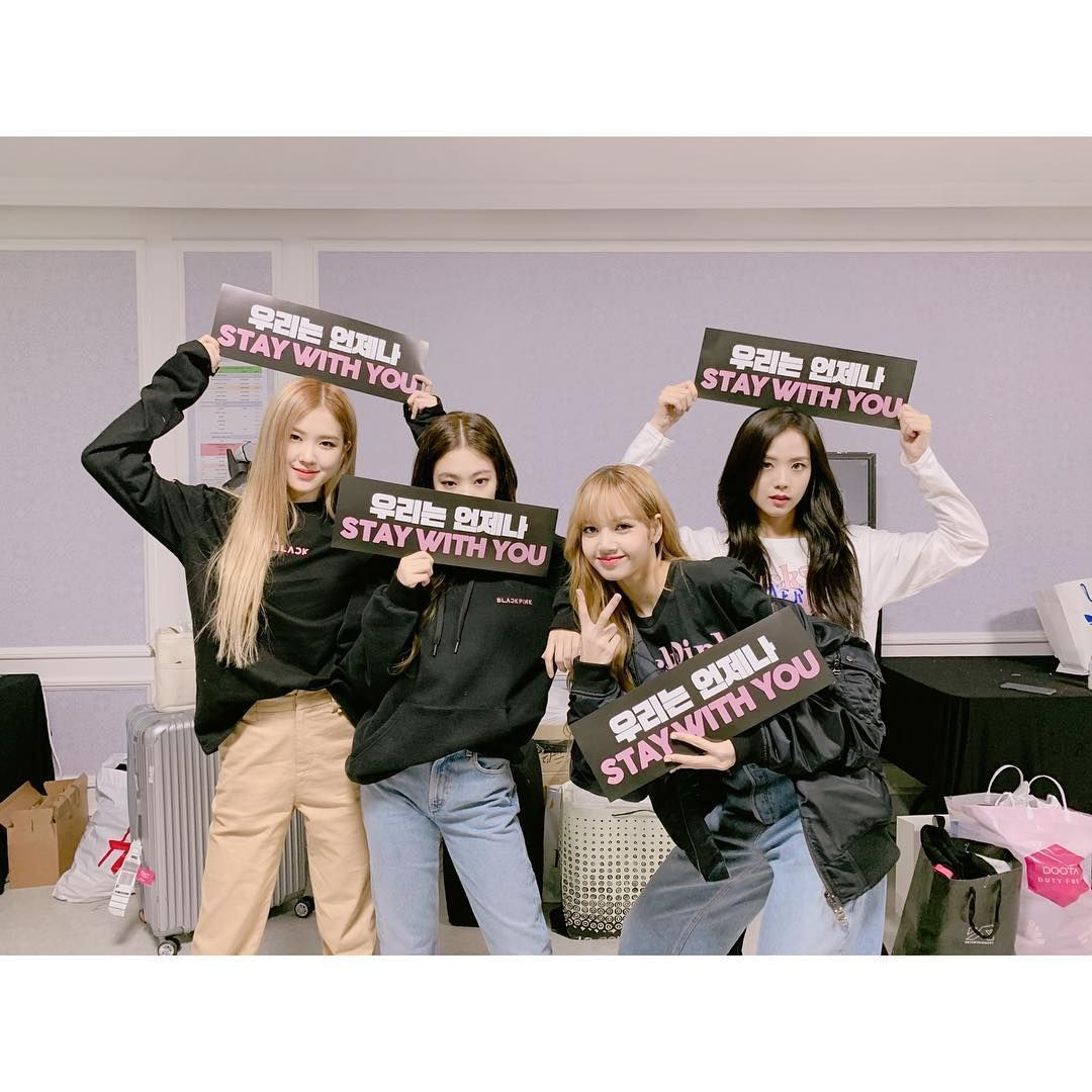 Blackpink. (Instagram @blackpinkofficial)
