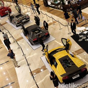 Lamborghini sampai Aston Martin di DKI Nunggak Pajak Rp 48,6 M