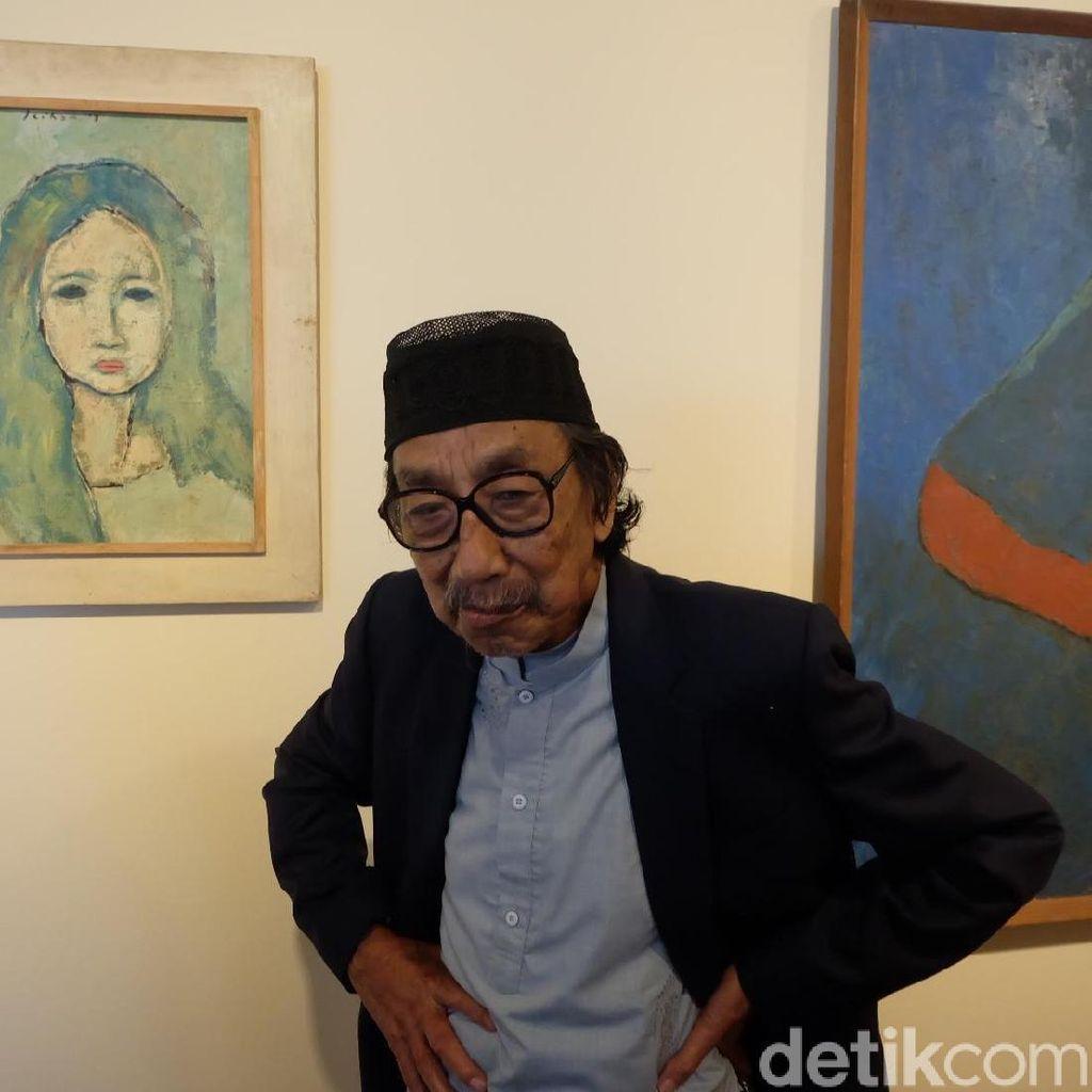 Maestro Pelukis Jeihan Sukmantoro Sakit Kondisinya Kritis