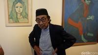 Sebelum Meninggal, Maestro Lukis Jeihan Idap Penyakit Kronis