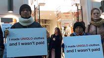 Penjahit Indonesia Demo Uniqlo Jepang Hingga Denmark karena Belum Dibayar