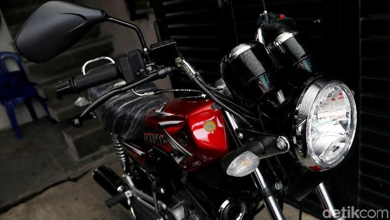 Yamaha RX King koleksi Ahmad Sahroni Foto: Pradita Utama