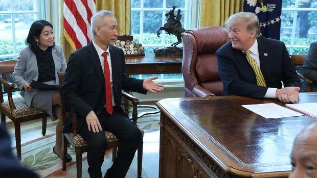 Perundingan Dagang AS-China Berlanjut Lagi Akhir April