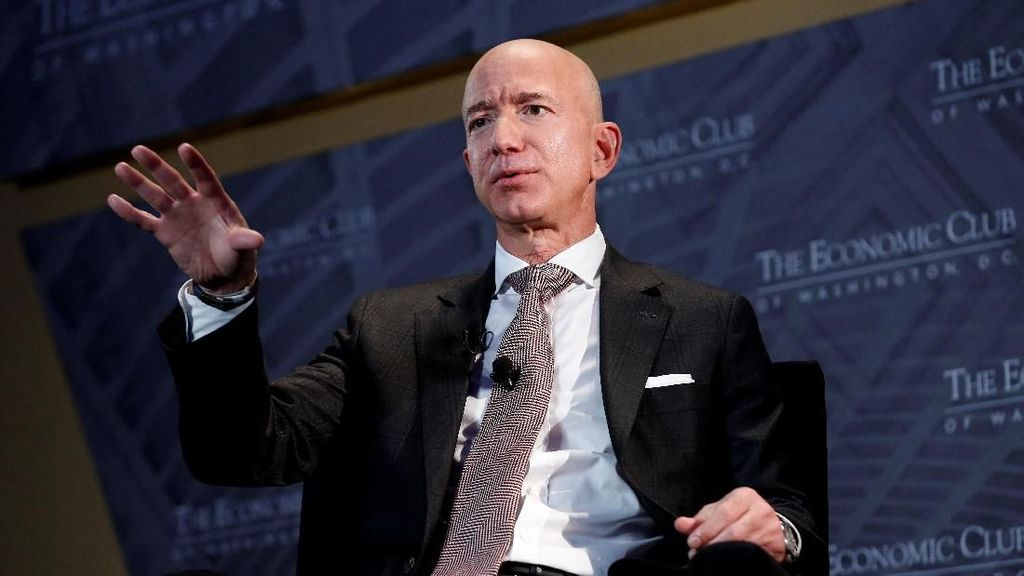 Karyawan Tetap Kerja Saat Wabah Corona, Jeff Bezos: Terima Kasih