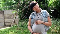 Curhat ke Suami, Cara Poppy Sovia Hadapi Ketakutan soal Kehamilan