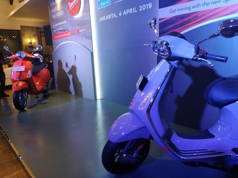 Motor baru Vespa. Foto: Ridwan Arifin