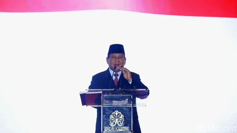 Prabowo Bahagia KPK Akui Ada Kebocoran Negara Rp 2.000 T