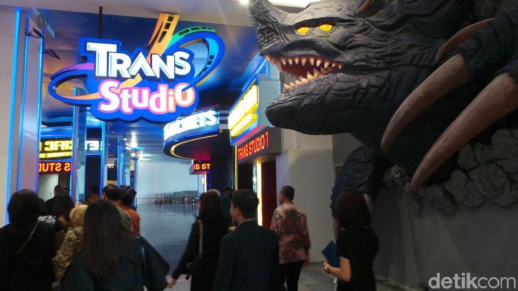 Trans Studio Themepark Cibubur Targetkan 1,5 Juta Pengunjung Setahun